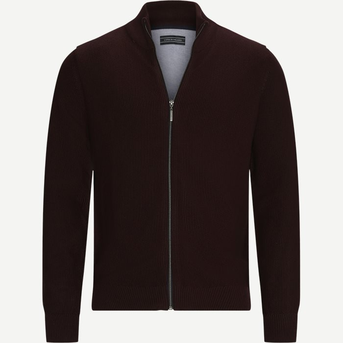 Munich Cardigan - Strik - Regular - Bordeaux